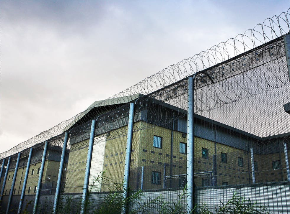 The Harmondsworth Detention Centre near Heathrow airport holds 615 people