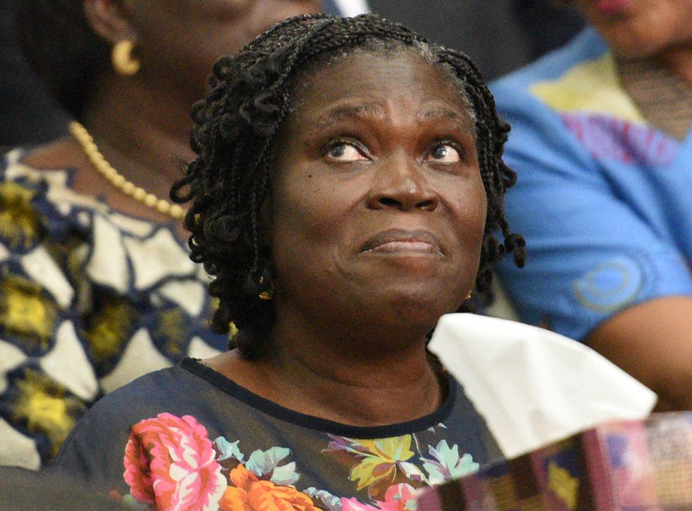 Simone Gbagbo, Ivory Coast's former first lady.