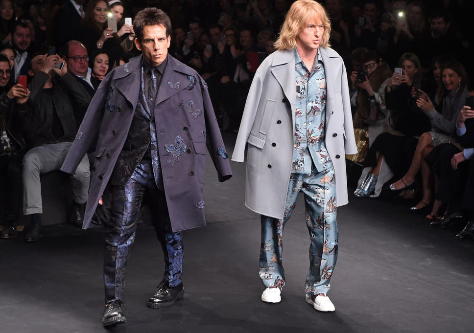 5d8d07659 Zoolander and Hansel actually modelled at Paris Fashion Week and the ...