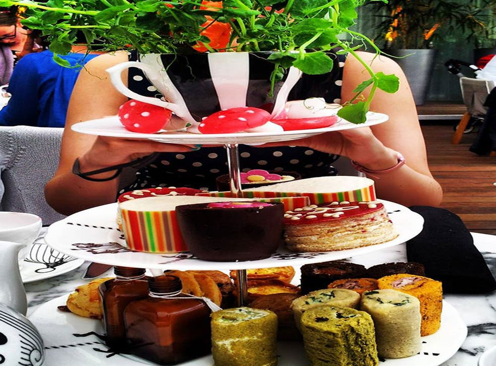 The Mad Hatter's Afternoon Tea at the Sanderson