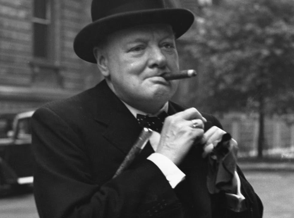 Winston Churchill, pictured in June 1941