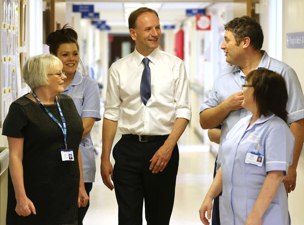 NHS England chief executive Simon Stevens visits Consett Medical Centre in County Durham