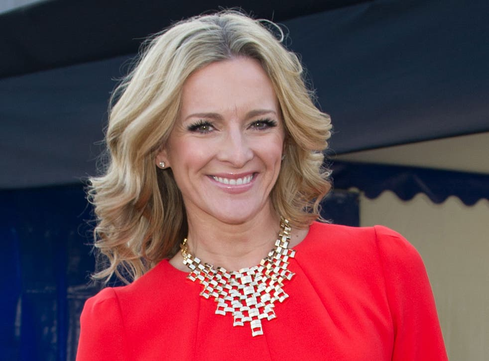 Gabby Logan has over 370,000 followers on her Twitter account