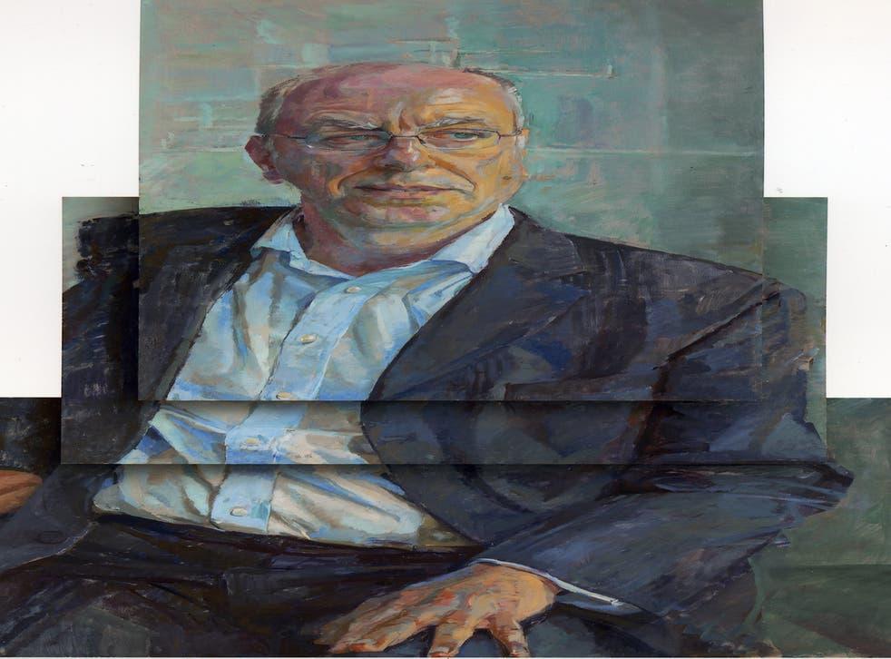 Daphne Todd's portrait of David Lister