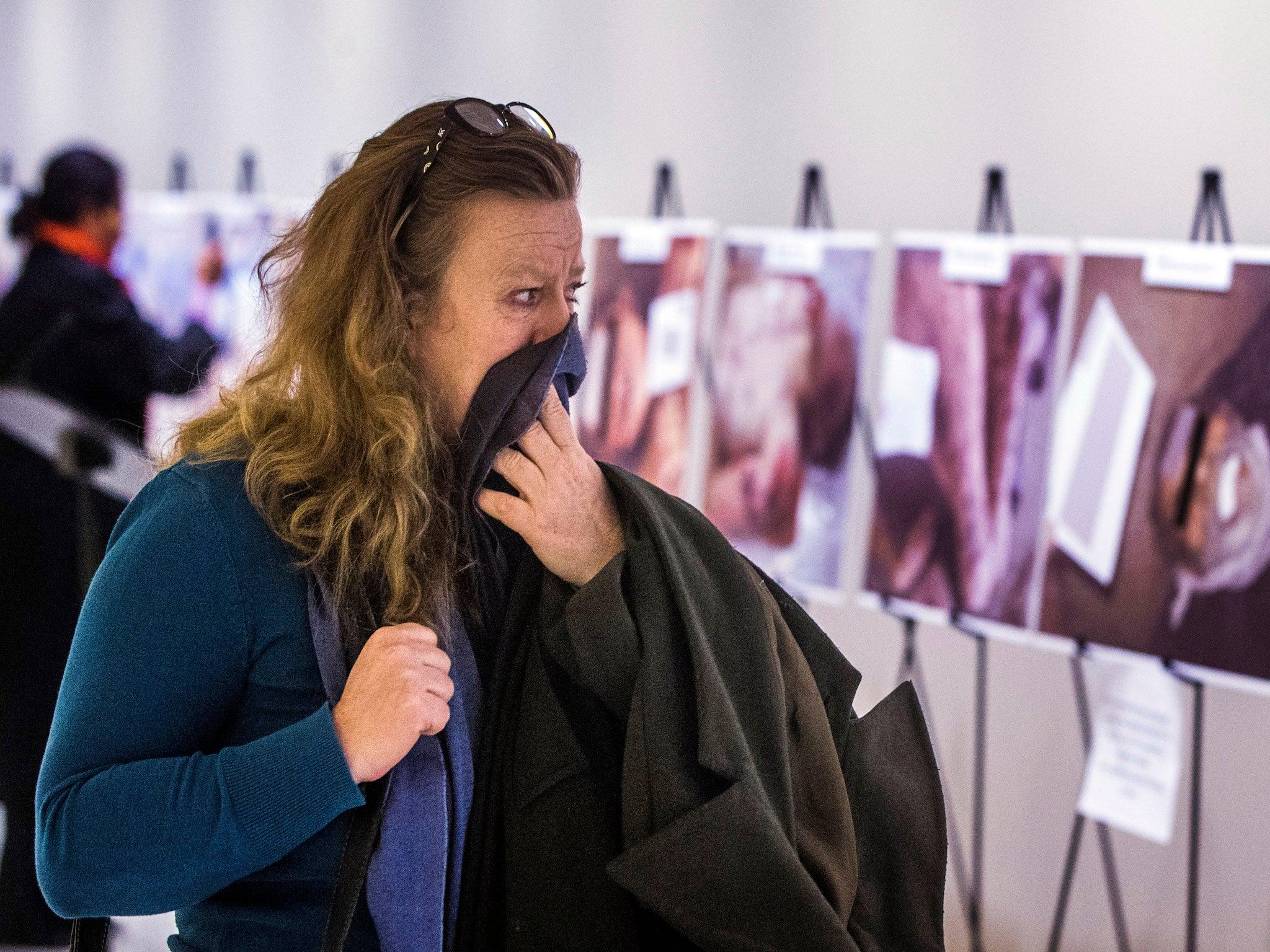 'Disturbing' Syria torture images go on display at UN headquarters