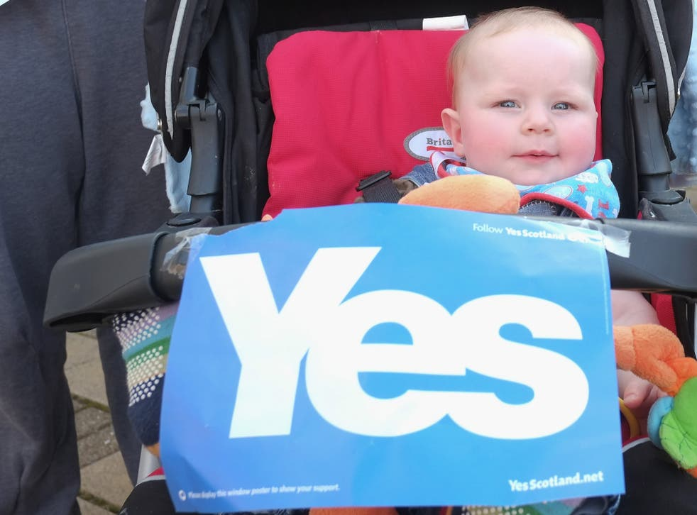 Enthusiasm for Scottish independence seems to have inspired the choice of names given to the country's newest citizens
