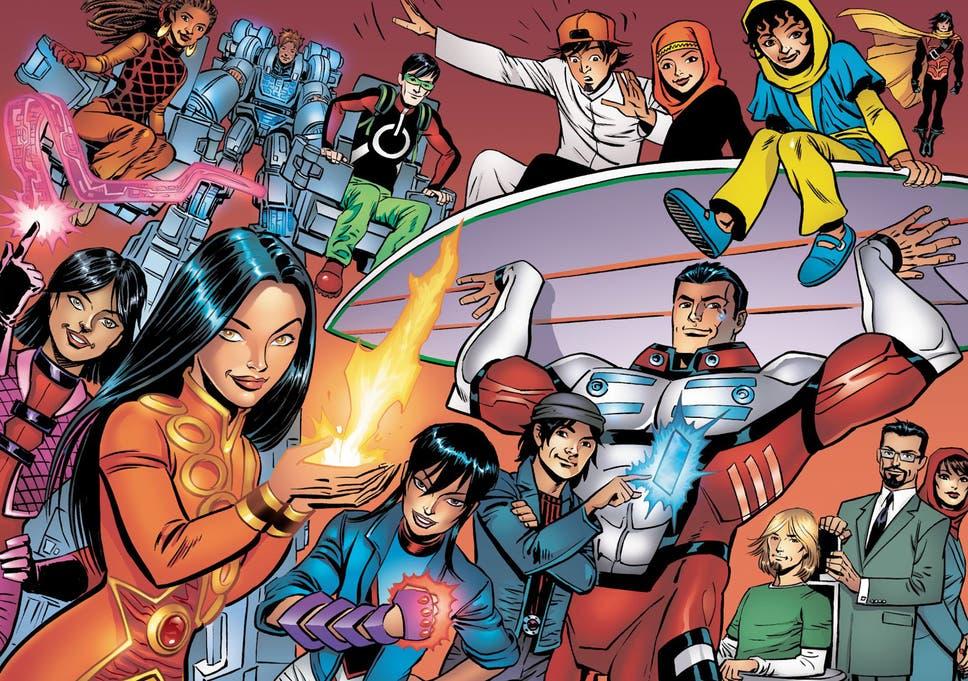 The all-Islamic super-heroes: Muslim children love 'The 99' comics