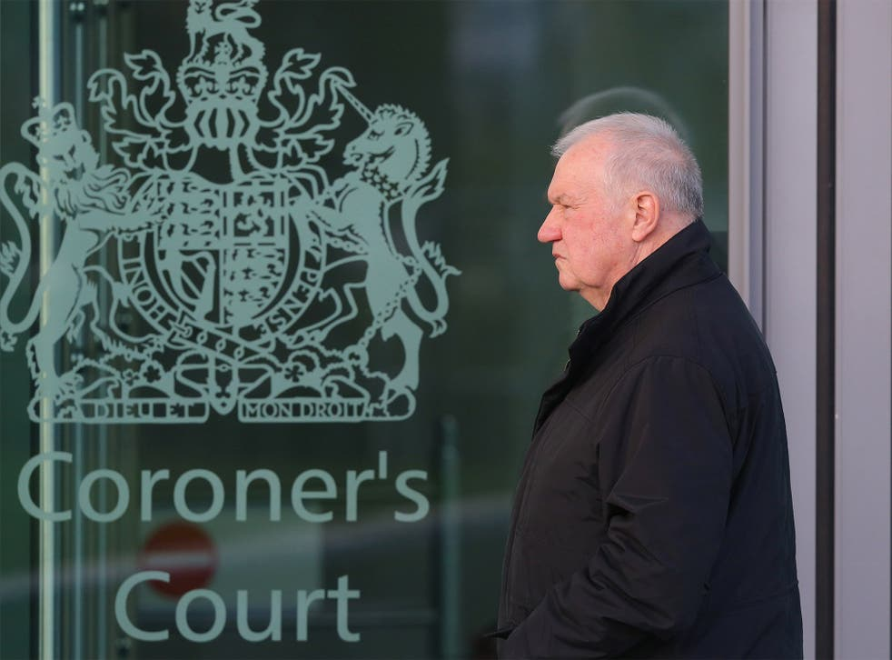 Former South Yorkshire Police Chief David Duckenfield