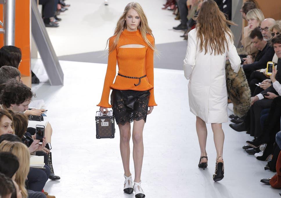 e38339c4530 Louis Vuitton Paris Fashion Week review  Lots of slithery