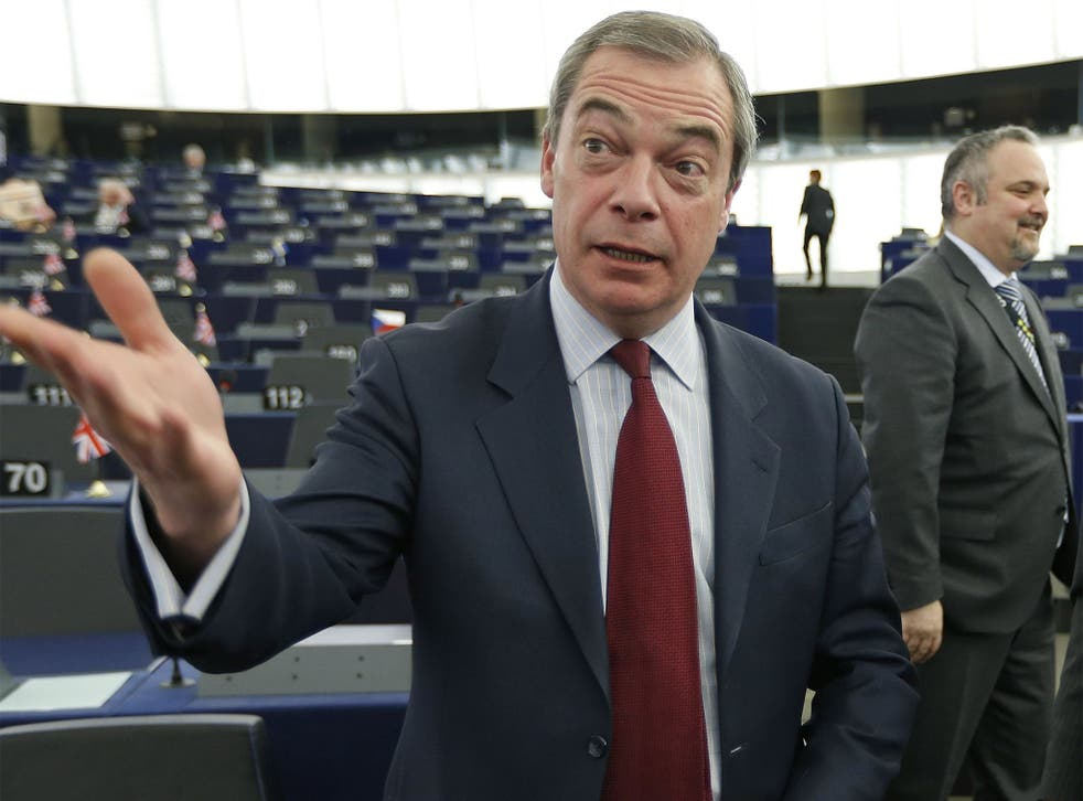 Nigel Farage says it is 'ludicrous' that employers can't favour a British applicant