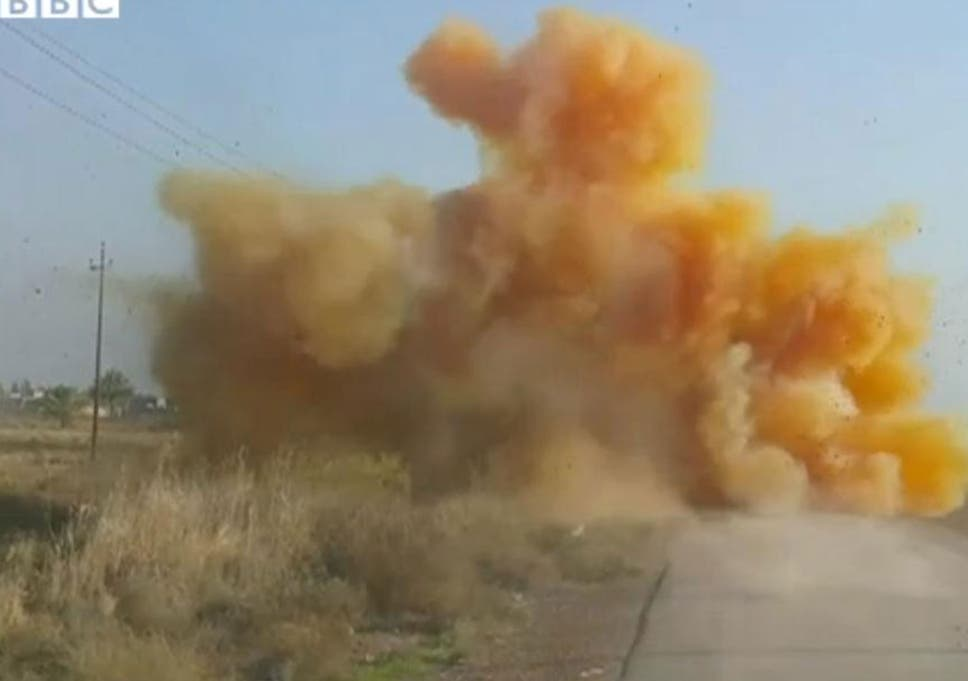 Isis Fanatics Highly Likely To Launch Chlorine Gas Attack At