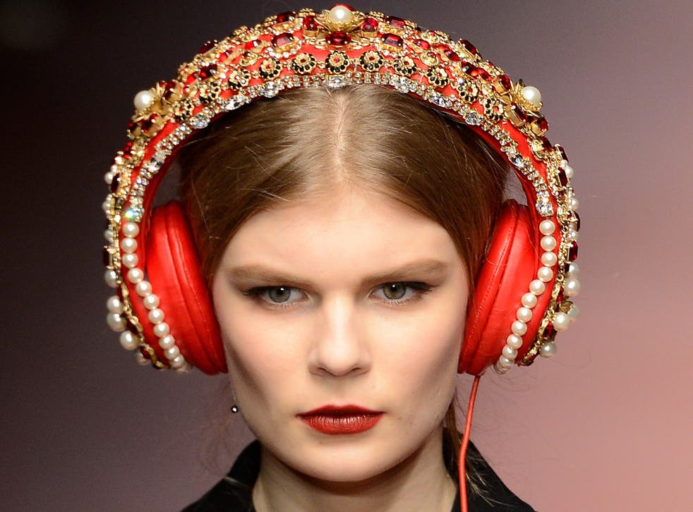 Dolce & Gabbana's headphones, made in partnership with Frends, to be sold online for $7,000