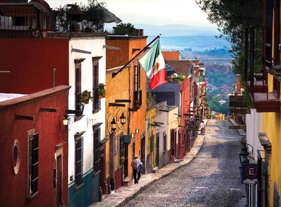 Cobbled together: San Miguel's charming colonial streets