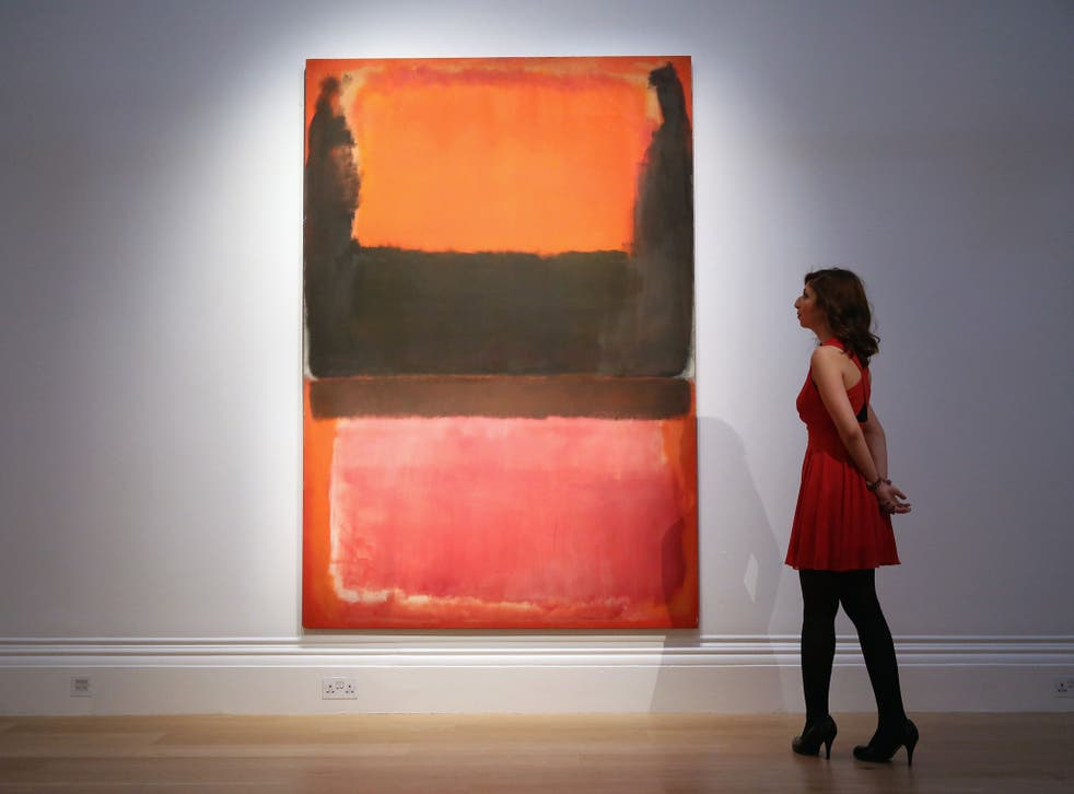 Rothko's large, mesmerising canvases still captivate audiences today