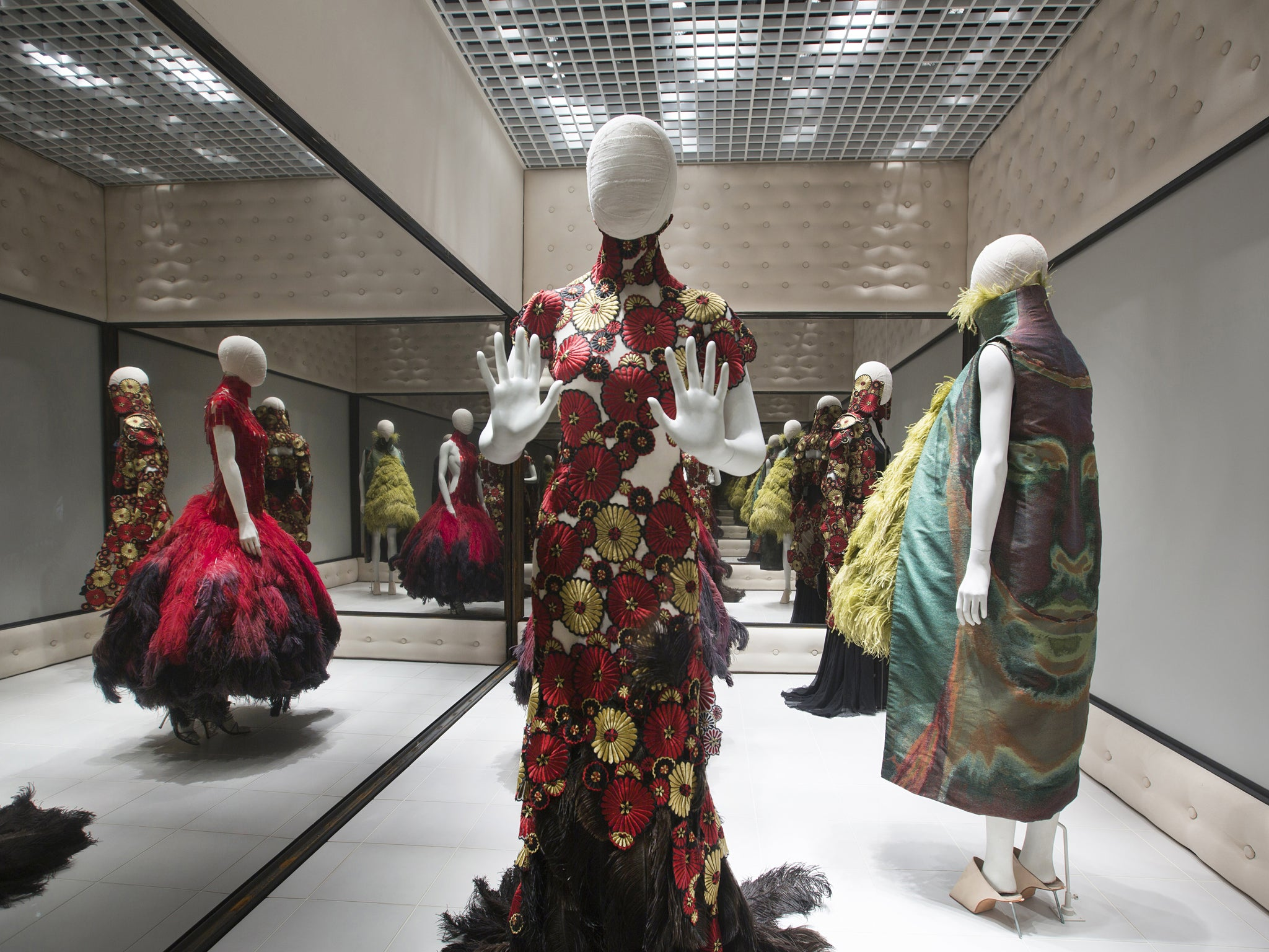 First Look Inside Alexander McQueen: Savage Beauty