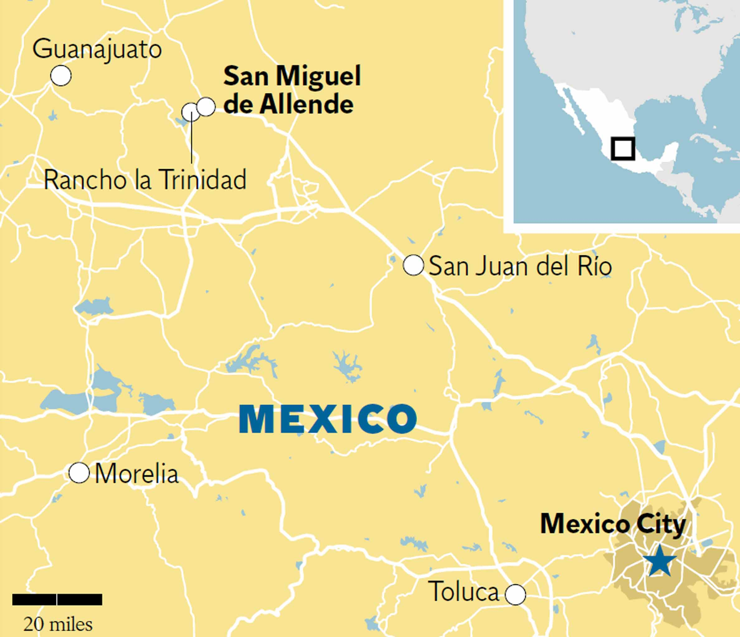 San Miguel de Allende: The new gourmet capital of Mexico ... on rio de janeiro map, rincon de guayabitos map, ixtapan de la sal map, queretaro map, real de catorce map, puerto vallarta map, ixtapa zihuatanejo map, hermosillo map, segovia spain on a map, mexico map, puebla on map, latin america map, chichen itza map, morelia map, cozumel map, san miguel county nm map, antigua guatemala map, buenos aires map, isla mujeres map, san cristobal de las casas map,