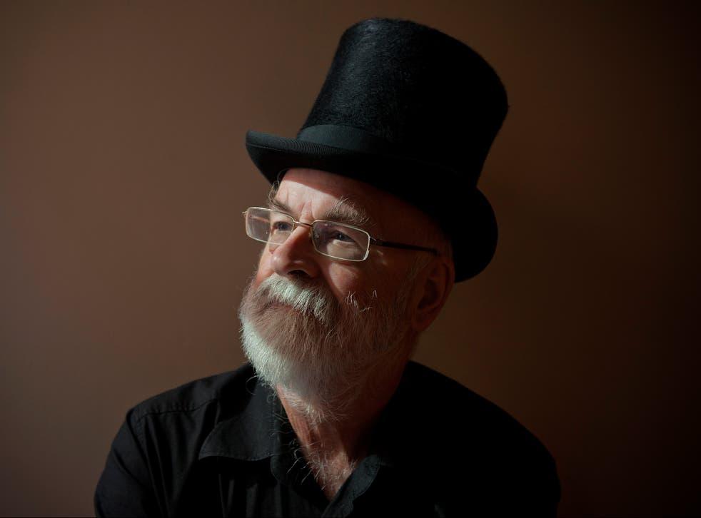 Terry Pratchett, creator of the Discworld series of books
