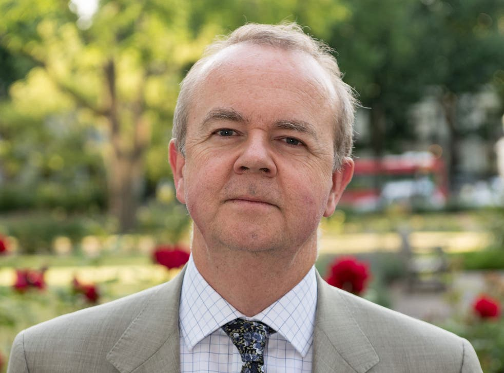 Ian Hislop attends a party to mark the reopening of Imperial War Museum on July 17, 2014 in London, England.