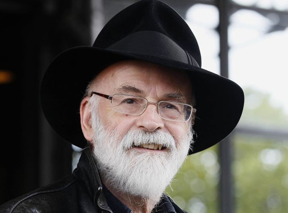 Pratchett: he called for bankers' multi-million-pound bonuses to be used to fight dementia