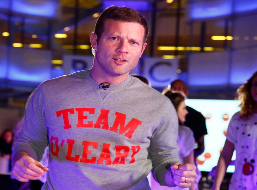 Dermot O'Leary has stepped in at the last minute to help host Children in Need