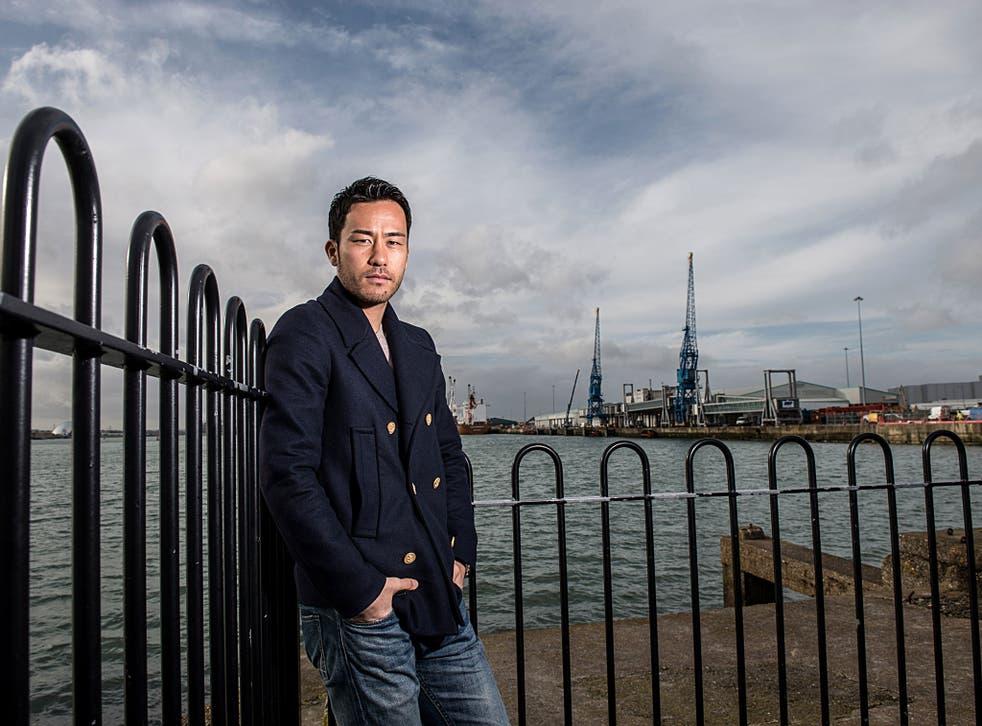 Maya Yoshida, pictured at Southampton Docks, has no plans to leave
