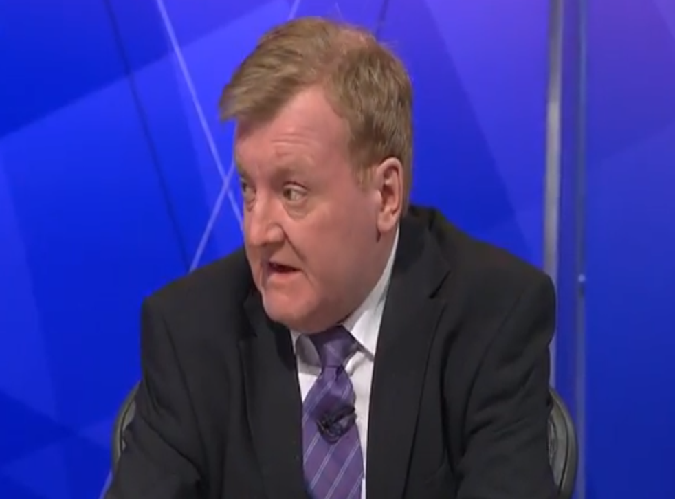 Charles Kennedy appeared to slur words on the flagship show on BBC One last night