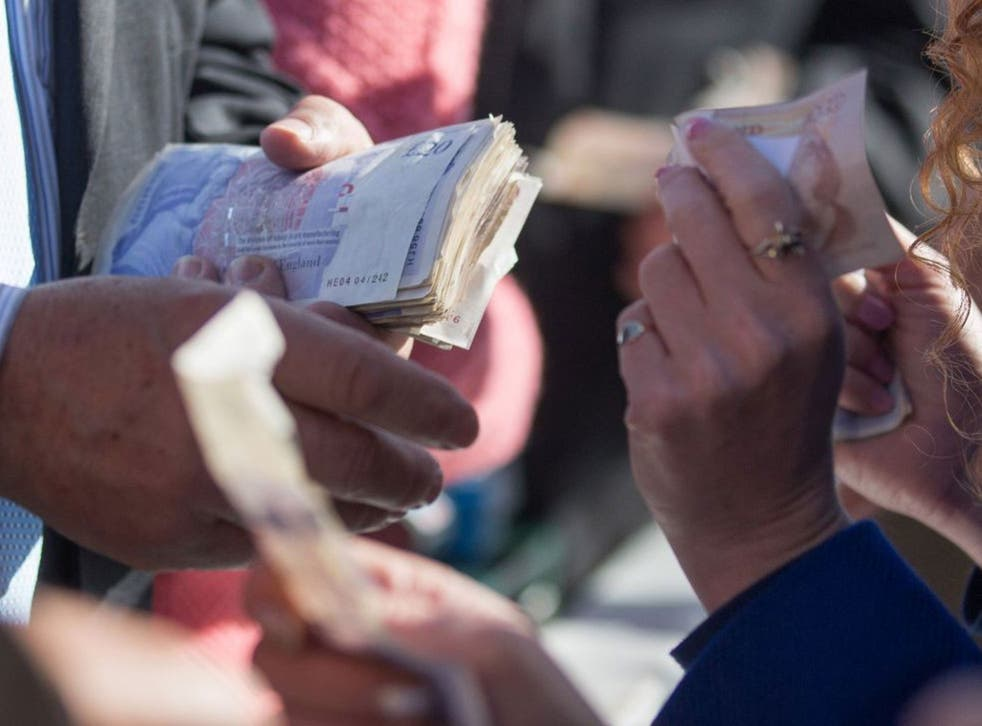 Cheltenham races this week saw women gamblers out in force