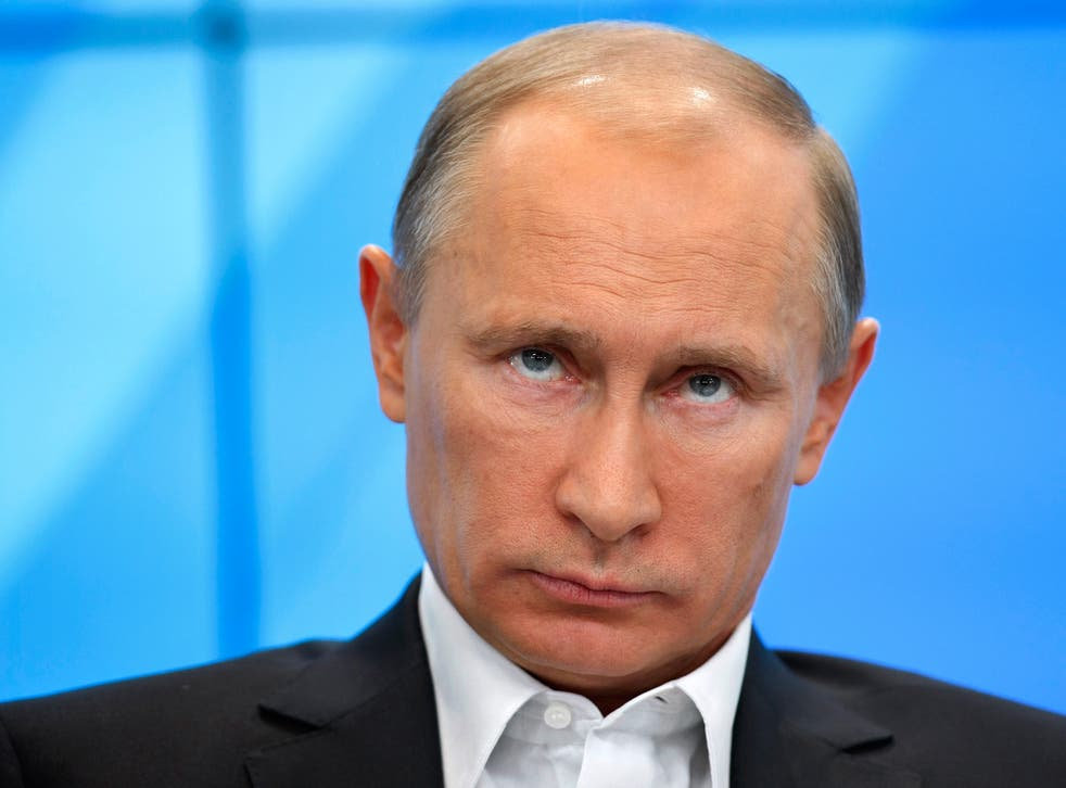 Putin had not been seen in public for more than a week