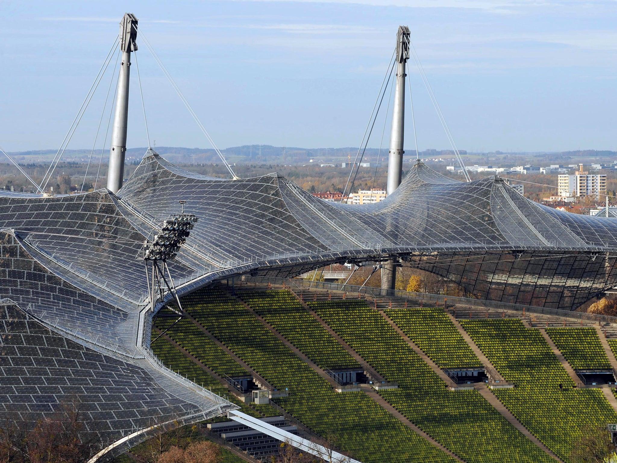 architekt olympiastadion münchen