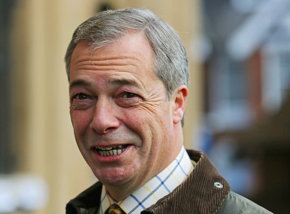 Nigel Farage will quit as Ukip leader if he fails to win a Parliamentary seat at the general election in May