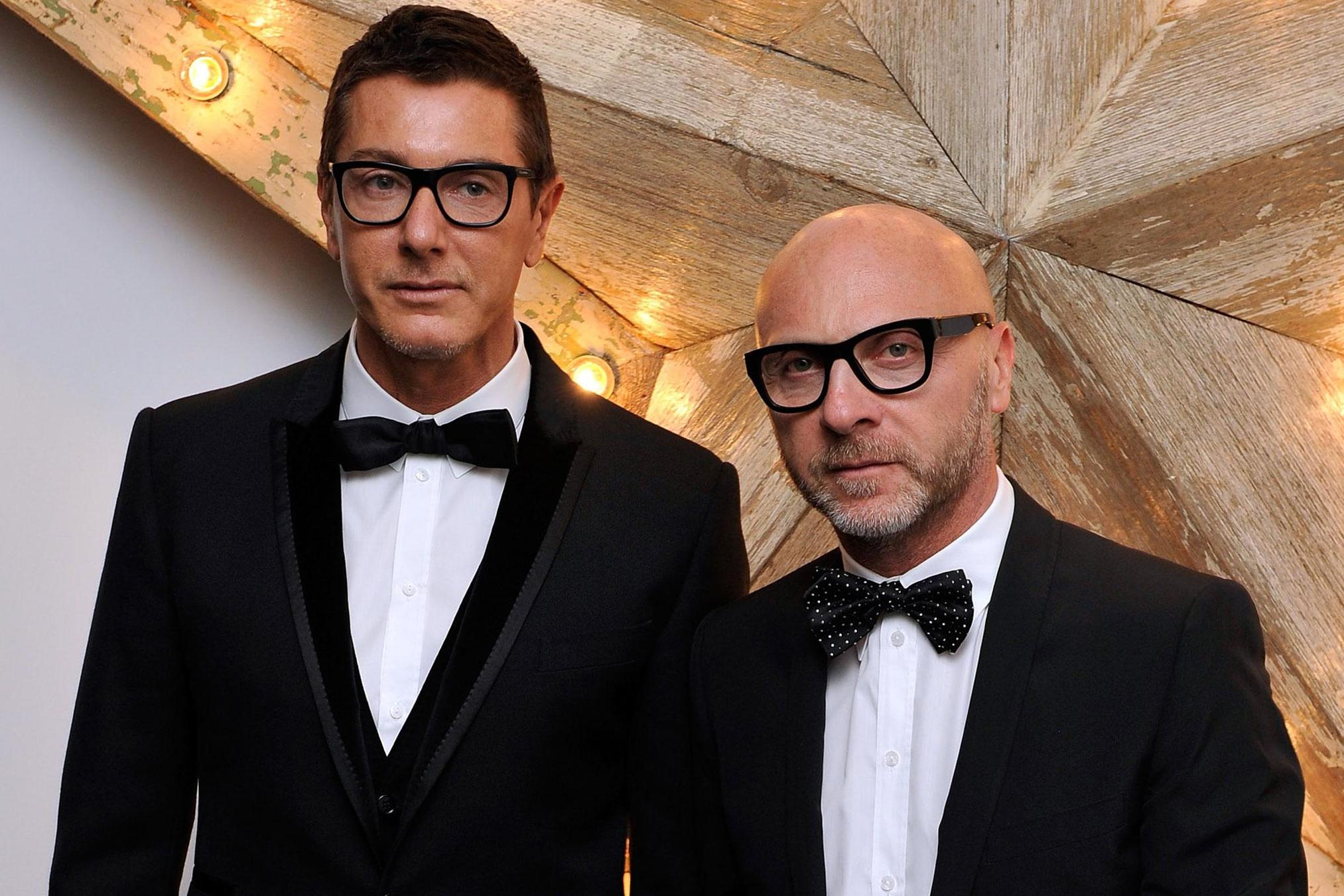 Stefano Gabbana Homosexual Dolce And Gabbana Co Founder Denounces Use Of Gay As A Label The Independent The Independent