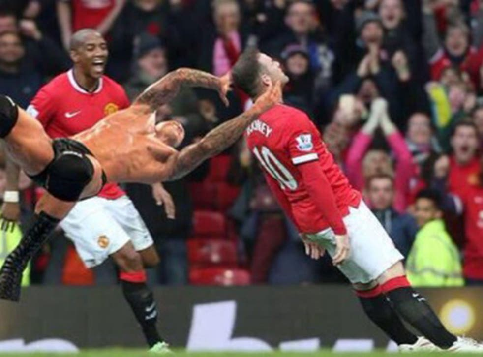 Wayne Rooney and an 'R.K.O outta nowhere'