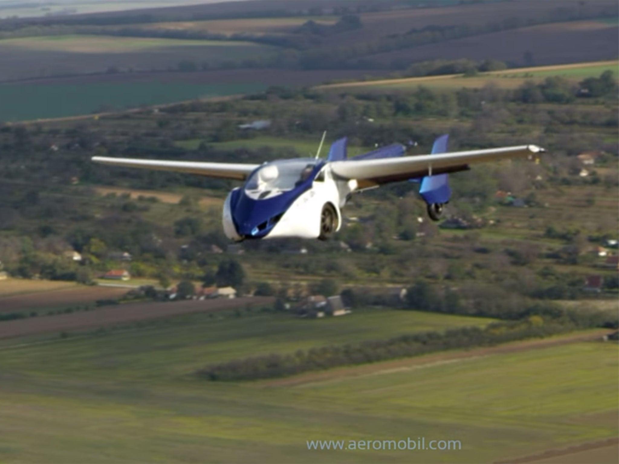 Aeromobil Flying Car Prototype Crashes