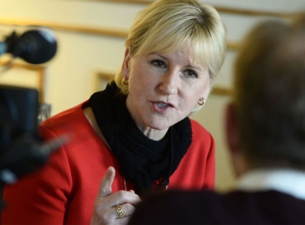Margot Wallström has spoken out against Saudi Arabia's human rights record
