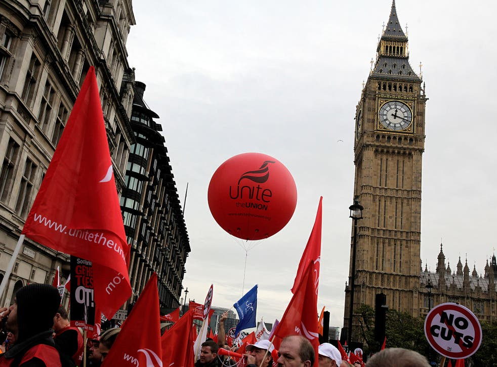 The leaked emails reflect concerns that national party figures were keen to promote potential rivals to Karie Murphy, a close associate of Unite leader Len McCluskey (Getty)