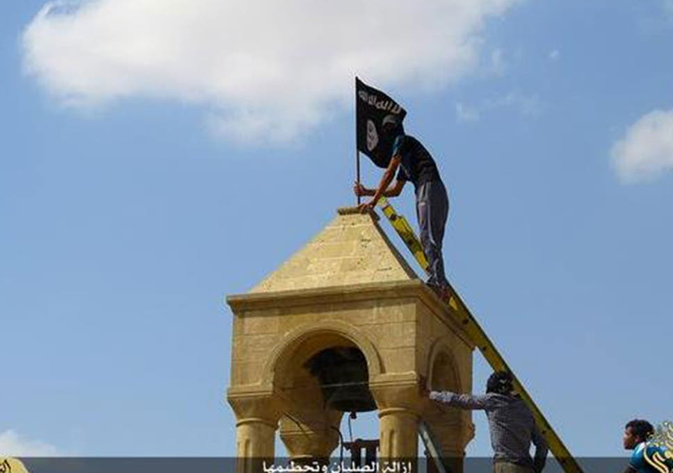 Isis Tries To Destroy All Traces Of Christianity In Mosul By
