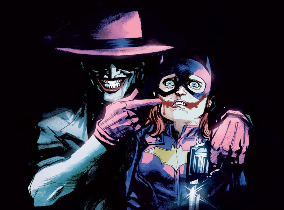 Rafael Abuquerque's Batgirl joker variant cover has been pulled by DC Comics