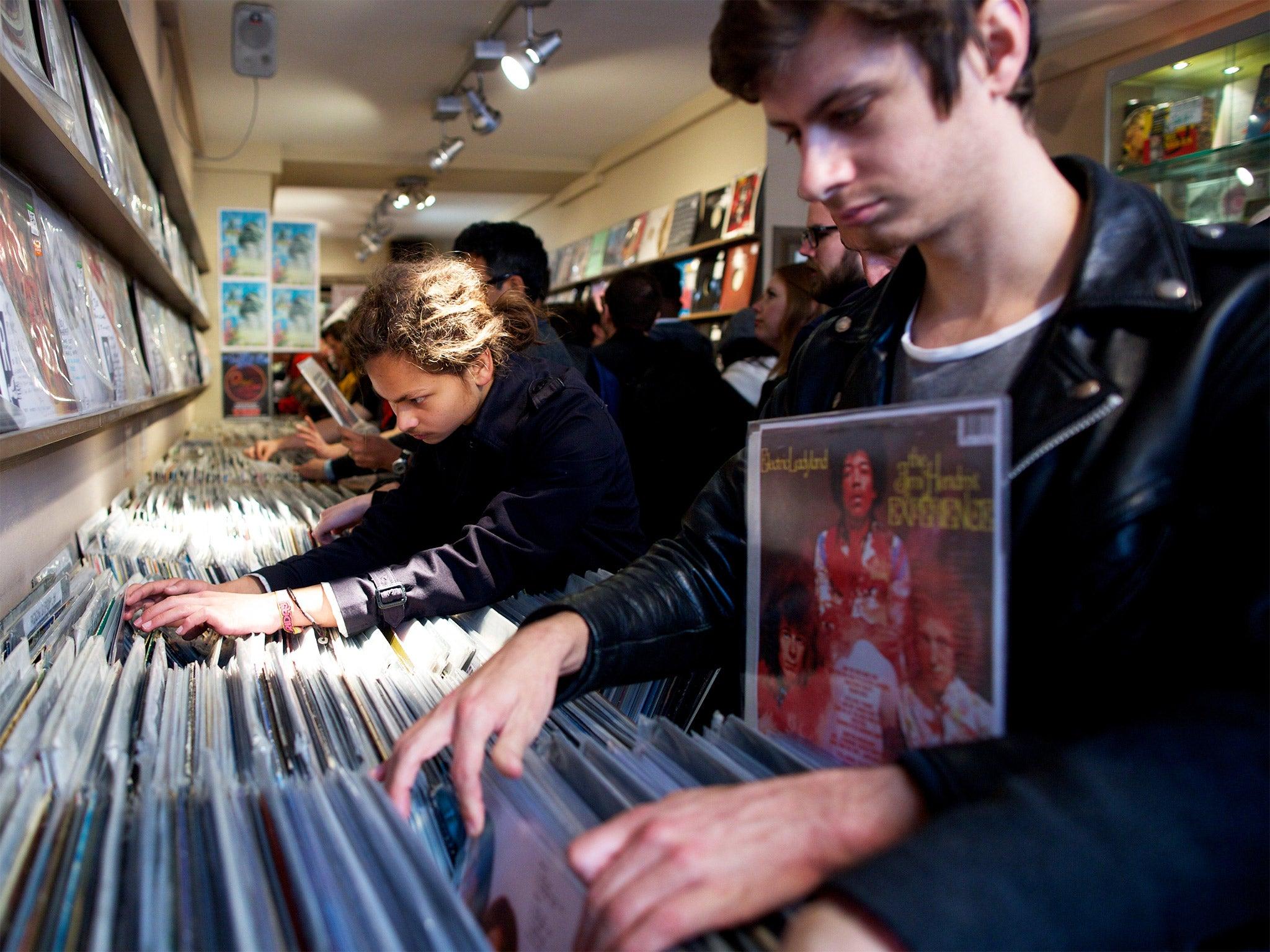 New vinyl singles chart sends pop back to 70s
