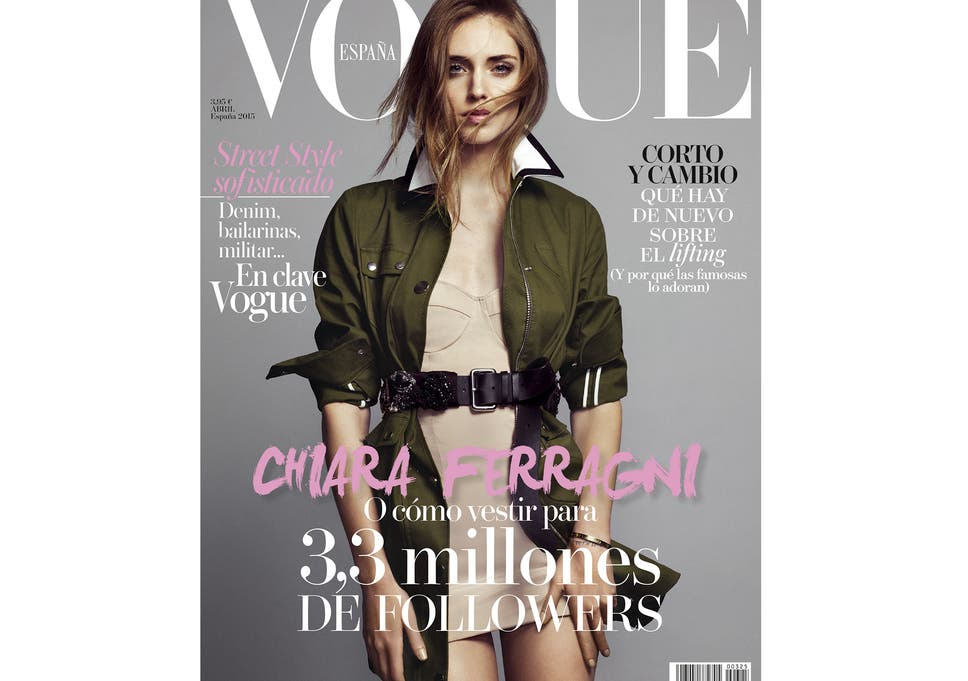 Chiara Ferragni is the first blogger to land a cover of