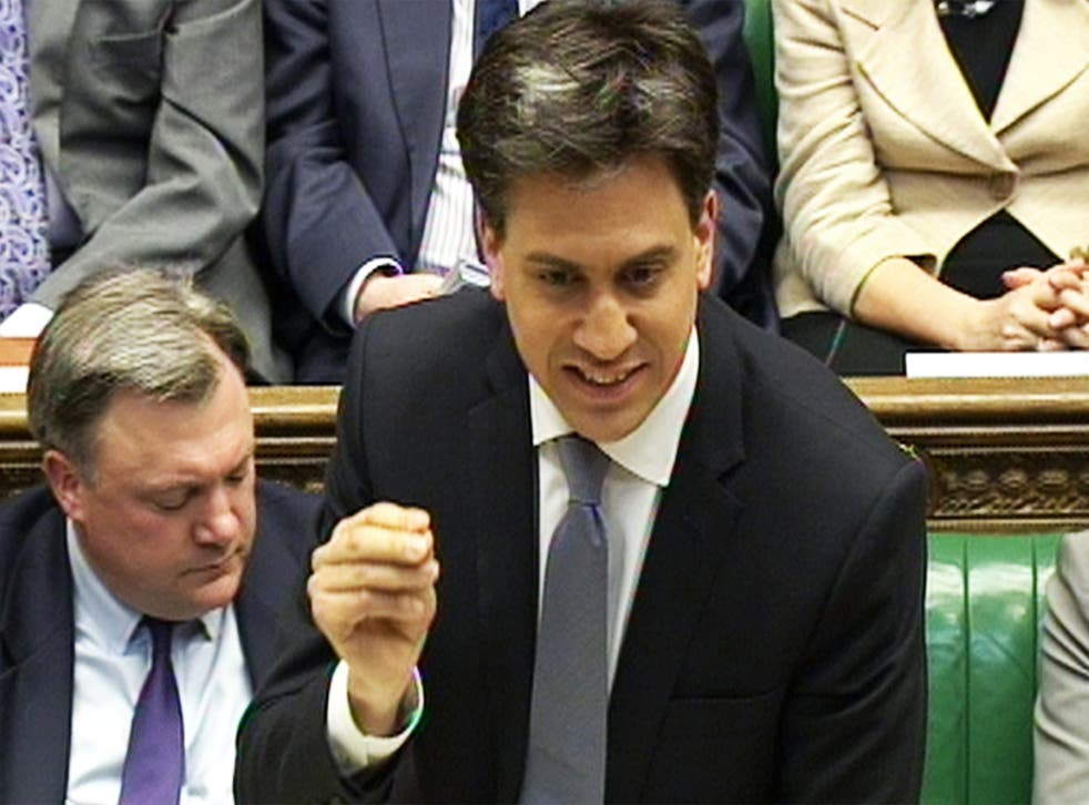 Ed Miliband responds to George Osborne's Budget