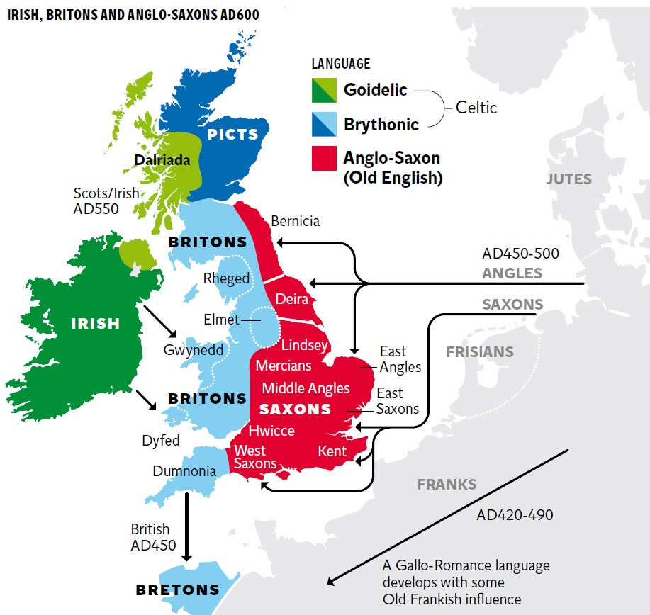 Map Of England Showing Cornwall.New Genetic Map Of Britain Shows Successive Waves Of Immigration