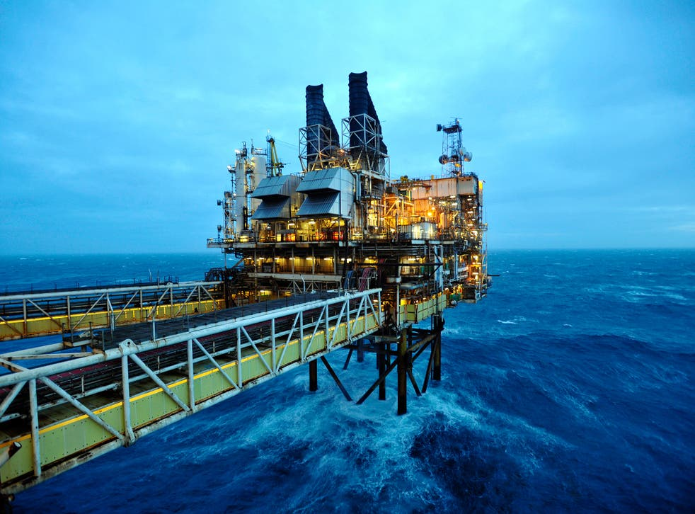 Tax on a typical North Sea oil field is now 50 per cent – as it was in 2010