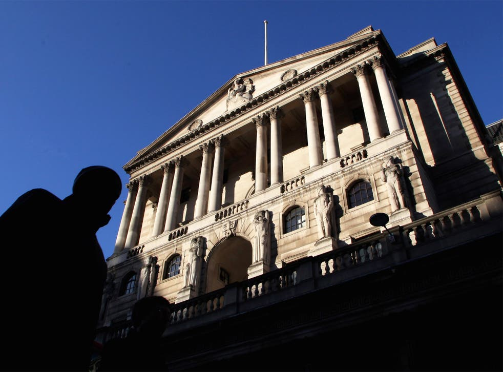 The Bank of England. The OBR predicts the UK economy will continue to grow