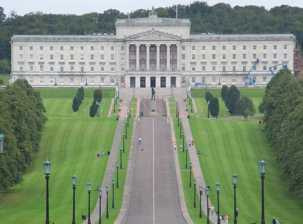 The Northern Irish Parliament at Stormont