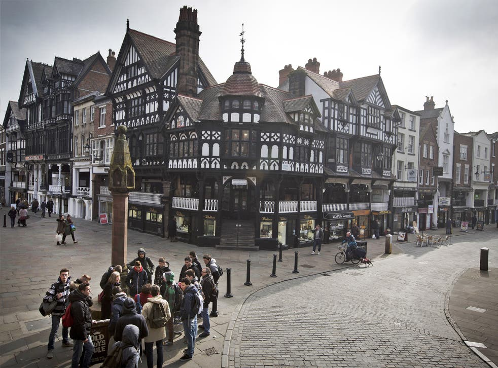 The Tories won Chester from Labour in 2010 with a majority  of 2,583