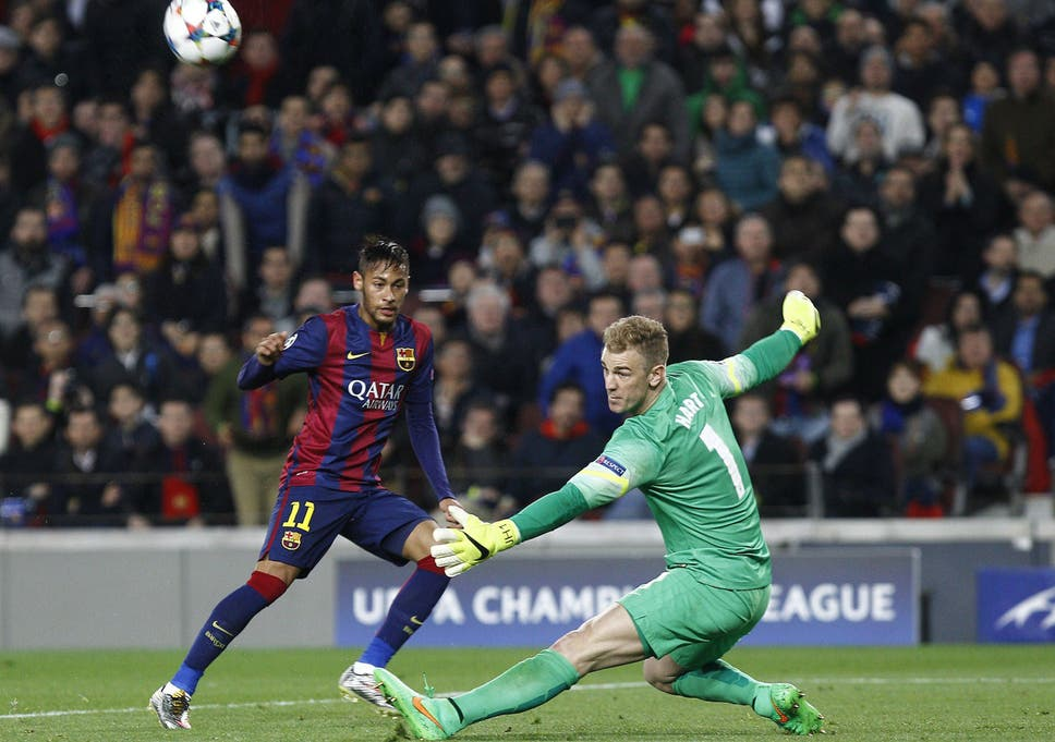 9f097501762 Gary Lineker and Jamie Carragher lead the plaudits as  astonishing  Joe  Hart provides heroic performance against Barcelona
