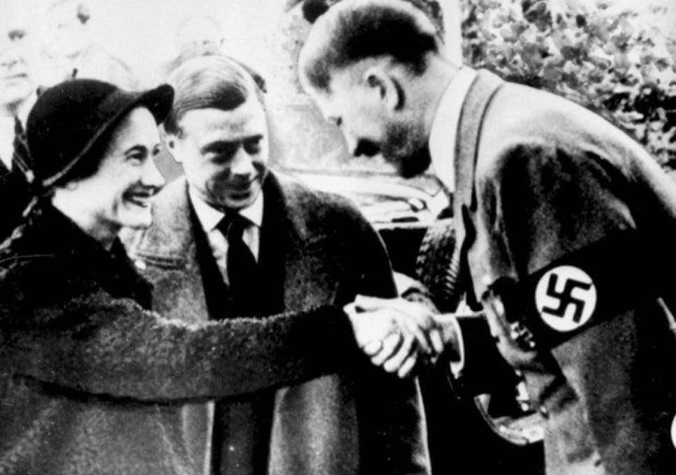 No juicy revelations: Wallis Simpson and the Duke of Windsor meeting Adolf Hitler