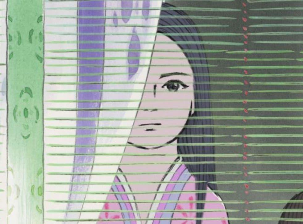A cut above: Chloë Grace Moretz voices the Princess Kaguya