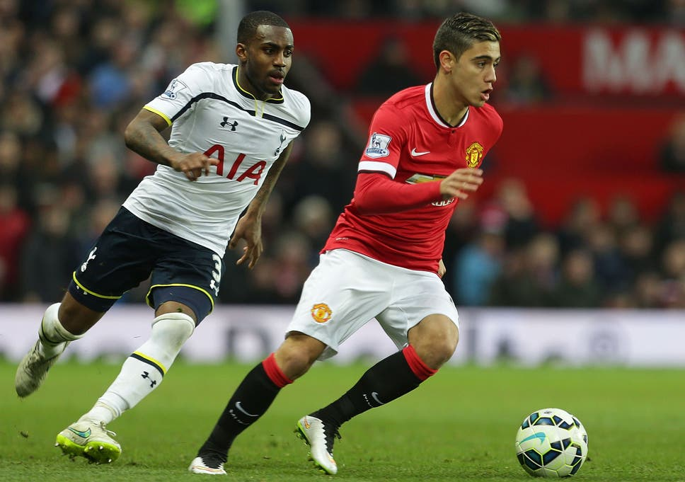 Manchester United midfielder Andreas Pereira