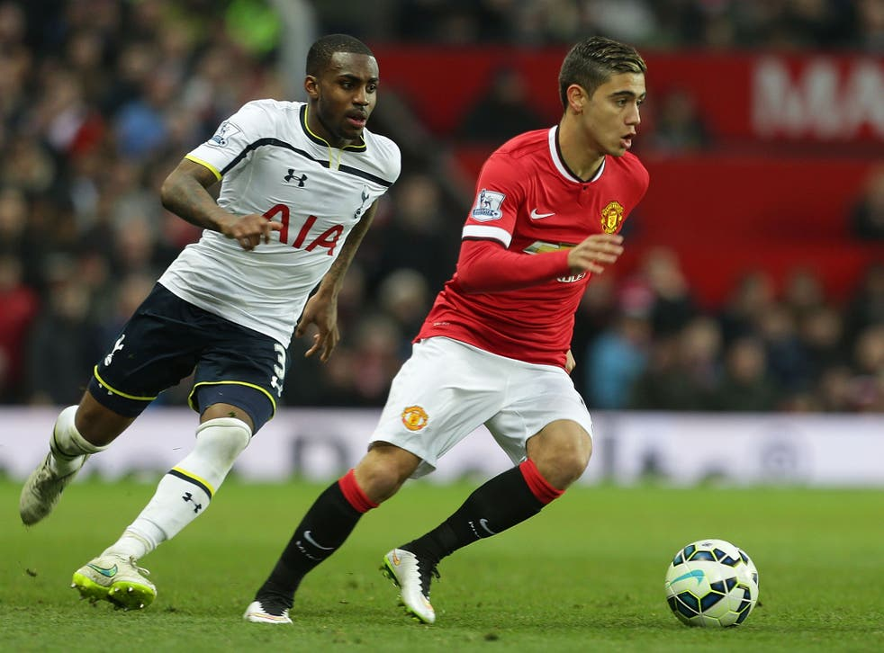 Manchester United midfielder Andreas Pereira